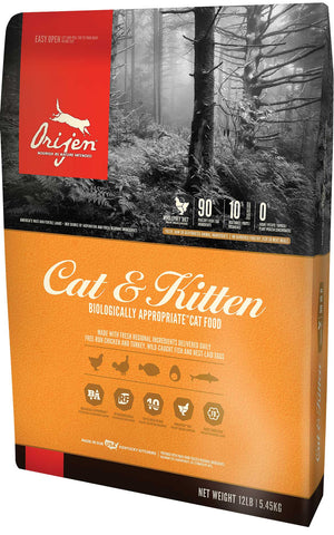 Orijen Cat & Kitten Grain-Free Dry Cat Food