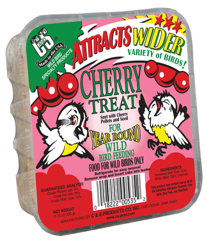Cherry Treat for Wild Birds