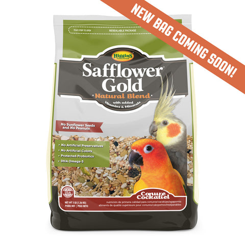 Higgins Safflower Gold® for Conures and Cockatiels