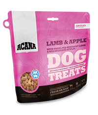 ACANA Lamb & Apple Singles Formula Dog Treats