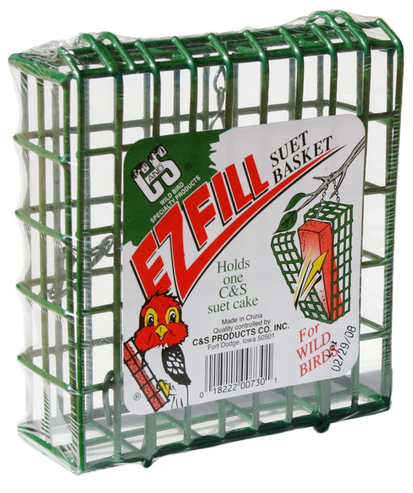 Green E-Z Fill Suet Basket
