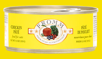 Fromm Four-Star Grain-Free Chicken Pate Cat Food