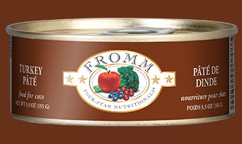 Fromm Four-Star Grain-Free Turkey Pate Cat Food