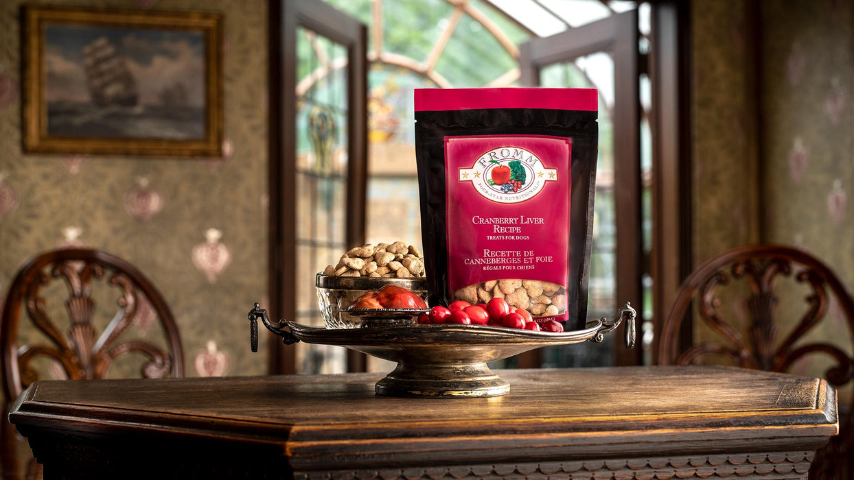 Fromm Family Four-Star Nutritionals® Cranberry Liver Treats for Dogs