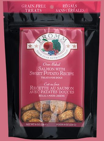 Fromm Family Four-Star Nutritionals® Salmon with Sweet Potato Treats for Dogs