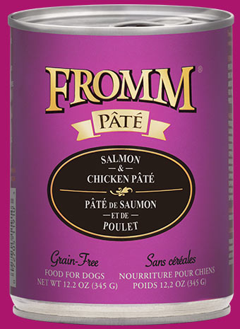 Fromm Family Gold Salmon & Chicken Pâté Food for Dogs
