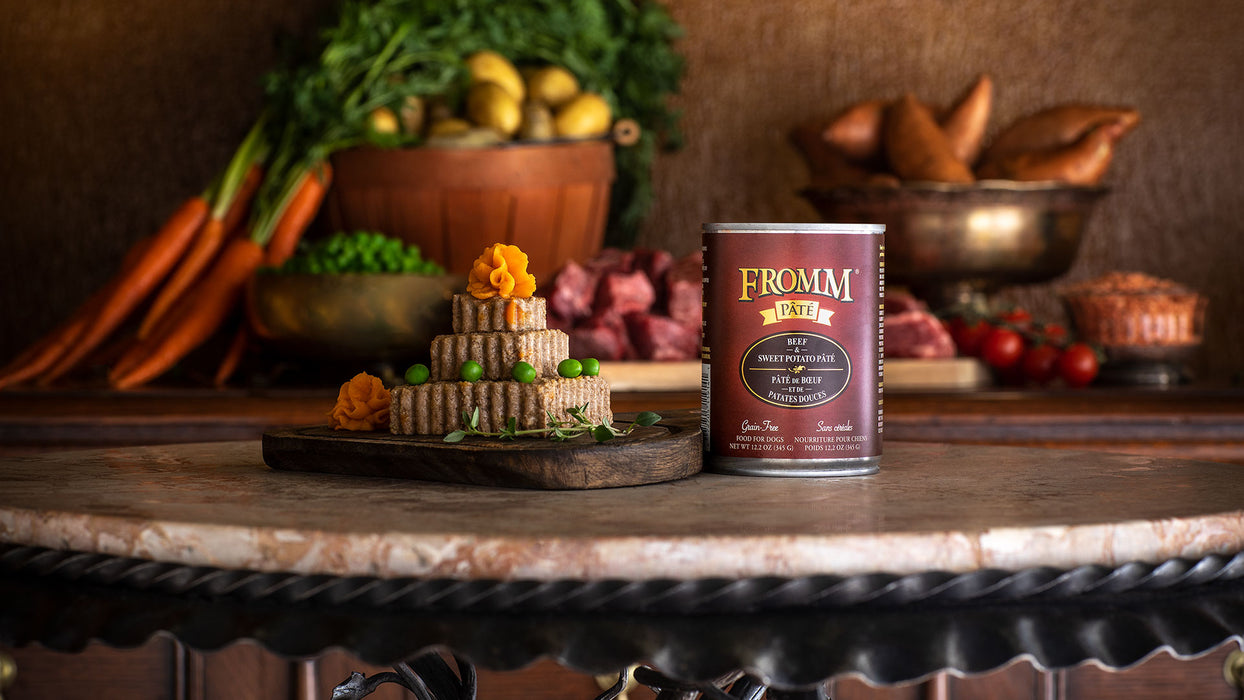 Fromm Gold Grain-Free Beef & Sweet Potato Pate Dog Food