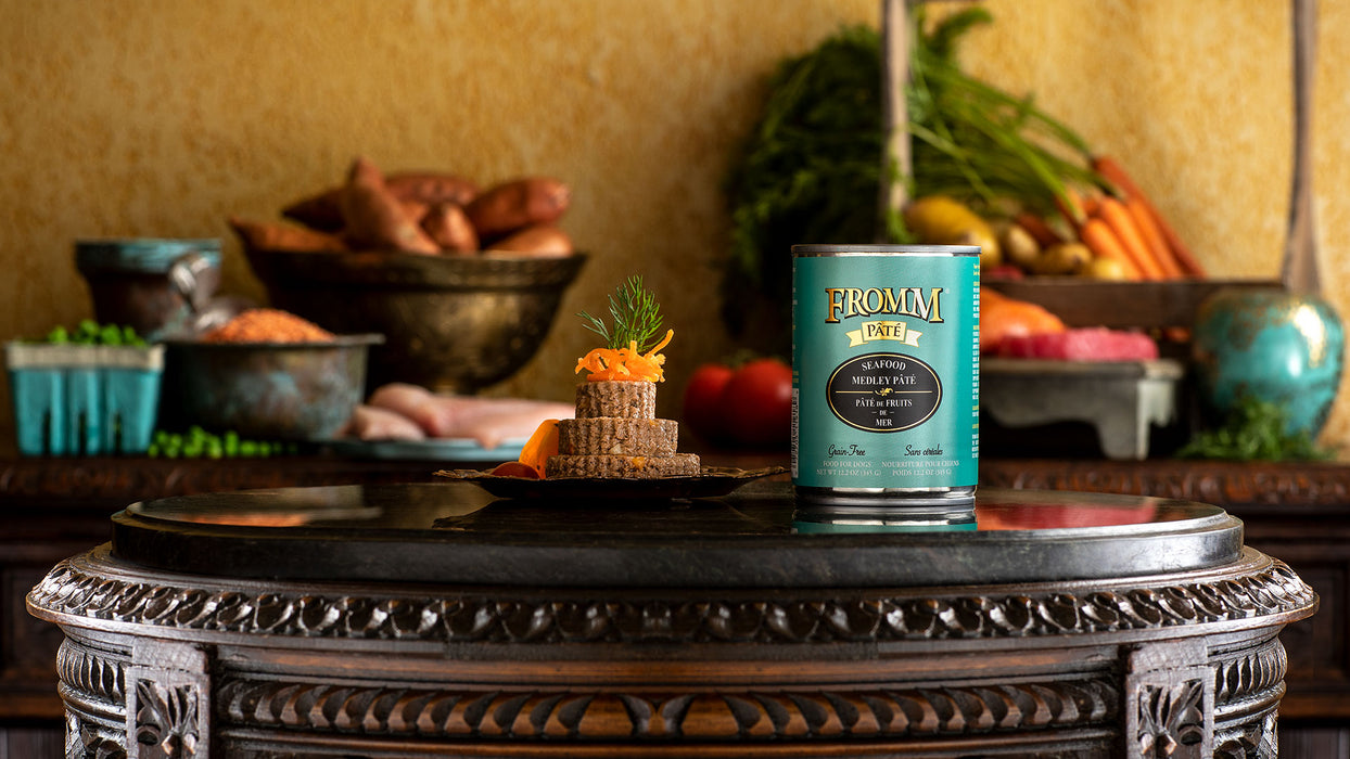Fromm Family Gold Seafood Medley Pâté Food for Dogs
