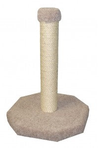 "24"" Sisal Wrapped Furniture Saver"