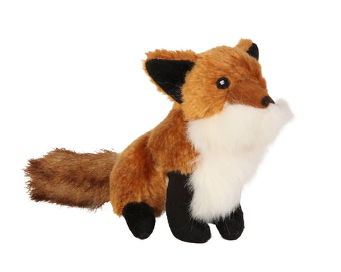 GoDog Wildlife Fox Dog Toy