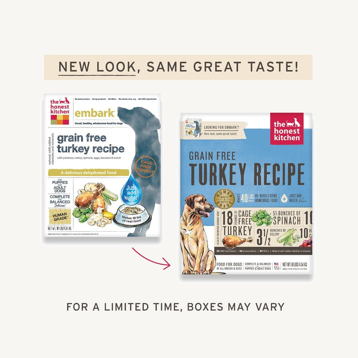 The Honest Kitchen Embark ® Grain Free Turkey Dog Food