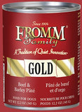Fromm Family Gold Beef & Barley Pâté Food for Dogs