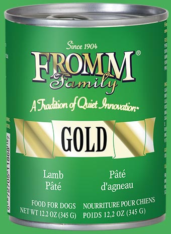 Fromm Family Gold Lamb Pâté Food for Dogs