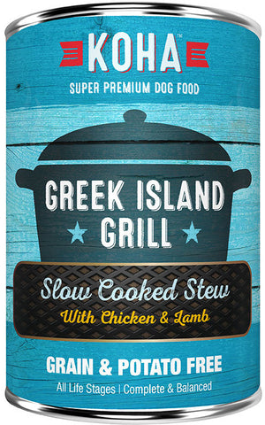 KOHA Greek Island Grill: Chicken & Lamb Stew Dog Food