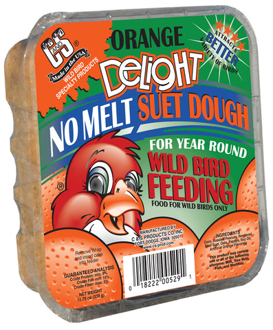 Orange Delight No Melt Wild Bird Suet Dough