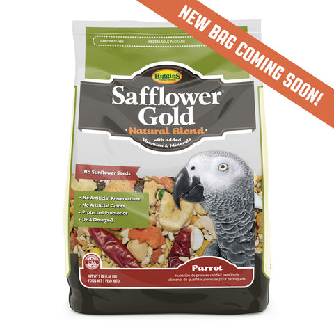 Higgins Safflower Gold® for Parrots