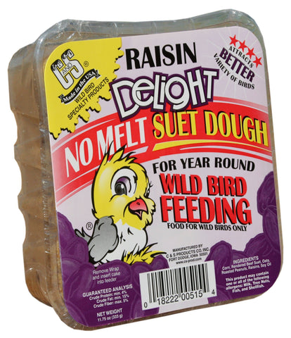 Raisin Delight No Melt Suet Dough