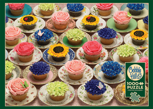CUPCAKES AND SAUCERS 1,000 PIECE PUZZLE