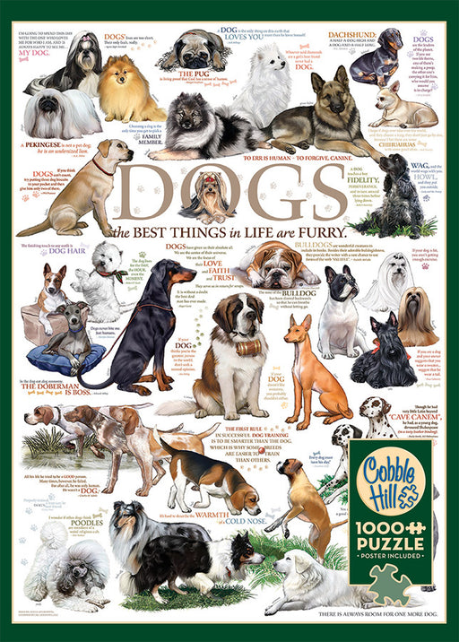 DOG QUOTES 1,000 PIECE PUZZLE