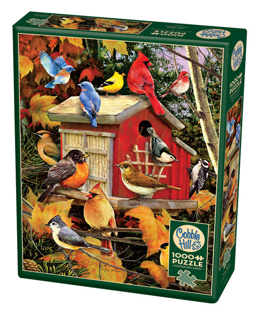 FALL BIRDS 1,000 PIECE PUZZLE