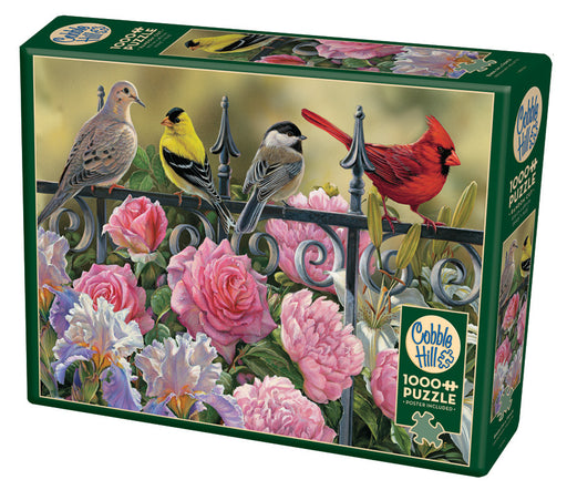 BIRDS ON A FENCE 1,000 PIECE PUZZLE