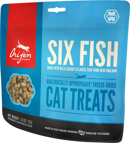 Orijen Six Fish Grain-Free Cat Treats