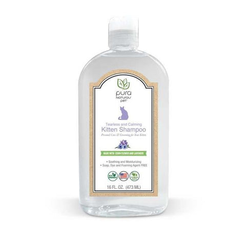 Pura Naturals Pet Tearless and Calming Kitten Shampoo