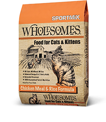 SPORTMiX® Wholesomes™ Chicken Meal & Rice Formula Cat Food