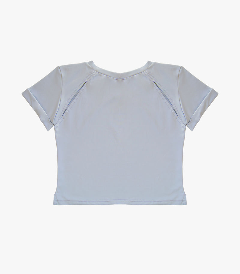 The Tee top - Sky Grey