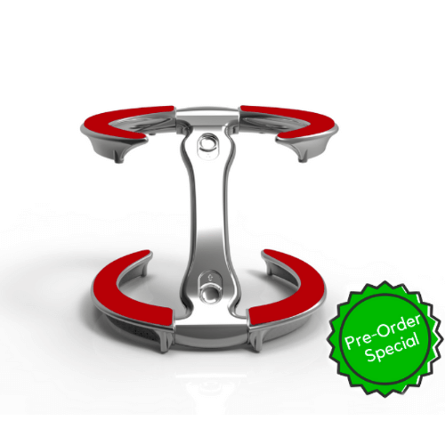 trivae, lid holder, pot lid holder, inverted lid storage, inverted lid holder, lid stand, lid rest, pizza stand, cake stand, serving stand, display stand, kitchen tool, kitchen gadget, lid caddy, pot lid caddy