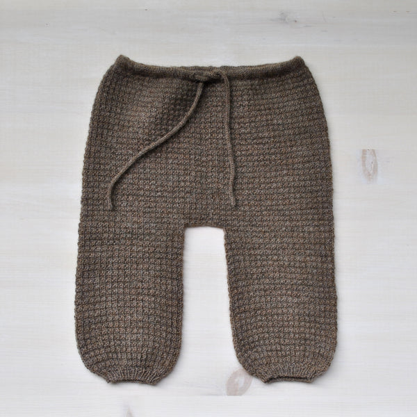 Wool-Alpaca Baby Pants