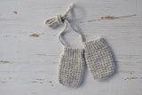 Alpaca & Wool Baby Mitts