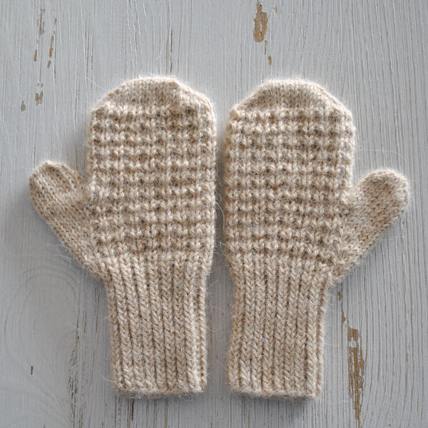 Alpaca Toddler Mitts
