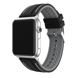 Striped Silicone Sport Band - Apple Band