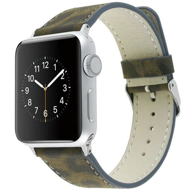 Leopard Fashion Leather Band - Apple Watch