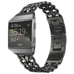 Chain Link Stainless Steel Band - Fitbit Ionic