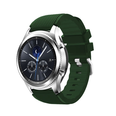 Solid Silicone Band - Samsung Gear S3 Classic, Frontier