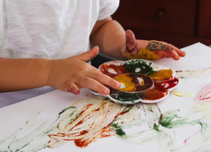 Veggie Baby Finger Paint