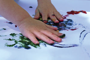 Wee Can Too The Original Safe Finger Paint- Grab 'n' Go Set