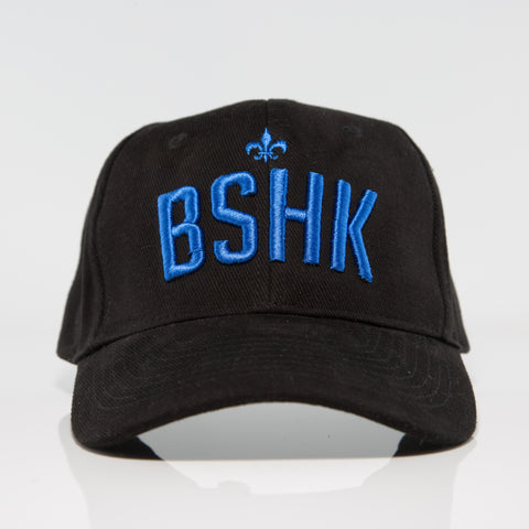 BSHK Baseball Cap - Black/Blue