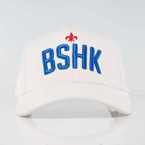 BSHK Baseball Cap - White/Blue