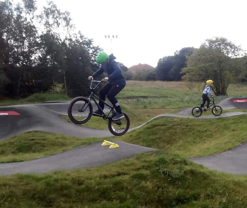 learning how to jump a bike