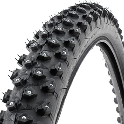 studded bicycle tyre