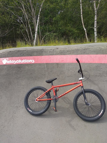 blank media xl at a velosolutions pump track