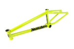 yellow sunday park ranger bmx frame
