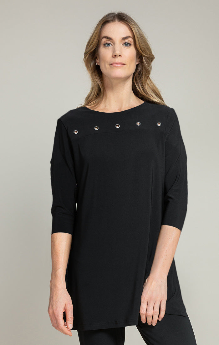 HALO BORDER TUNIC, 3/4 SLV