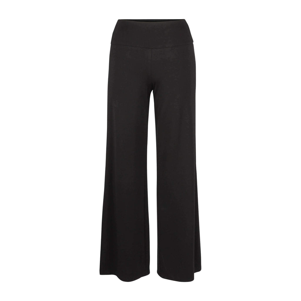 Up! Pants - LIGHT PONTE PALAZZO-Buttons and Bows