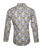 Floral Fashion Shirt For Men by Rock Roll n Soul-2
