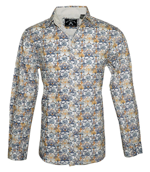 Floral Fashion Shirt For Men by Rock Roll n Soul-1