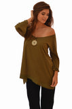 Koan 697 Supima Tunic — Military Green